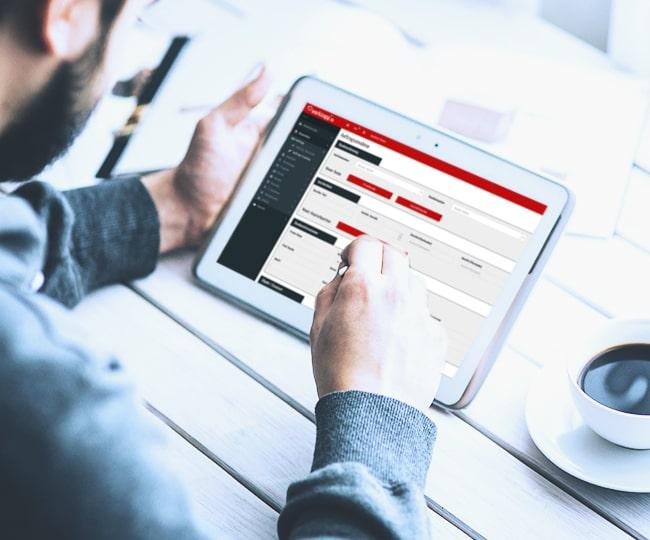 Handwerkersoftware-Zeiterfassung-Auftragsannahme Handwerker-Software