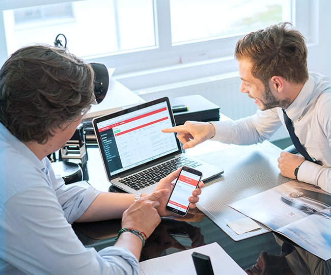 Handwerkersoftware-Zeiterfassung-Digitalisierung-Unternehmen Handwerker-Software