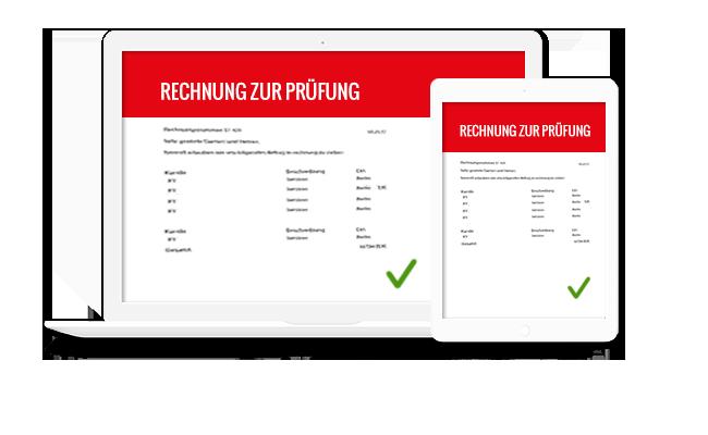 Handwerkersoftware-Zeiterfassung-Rechnung Klicken
