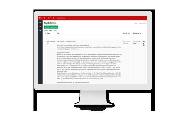 Handwerkersoftware-Zeiterfassung-Angebot-erstellen Klicken